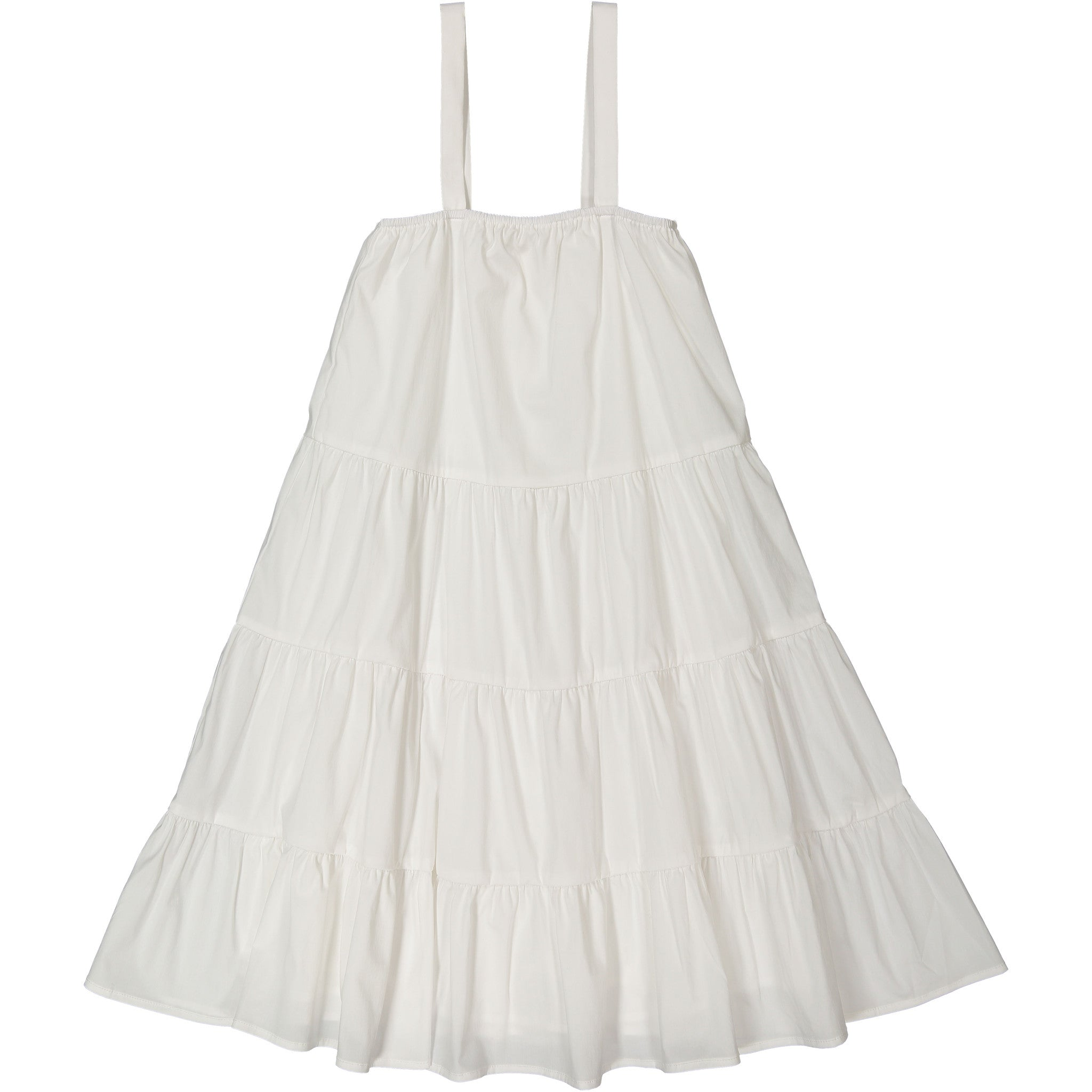Ava & Lu The White Adrift Dress - Ladida