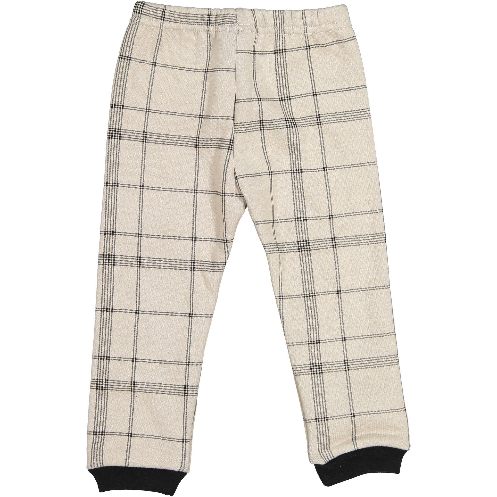 AE-HEM Beige Check Napping Loungewear - Ladida
