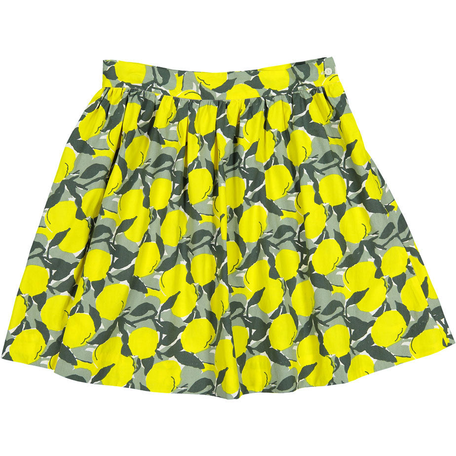 Bonpoint Yellow Tulips YAM Lilo Skirt - Ladida