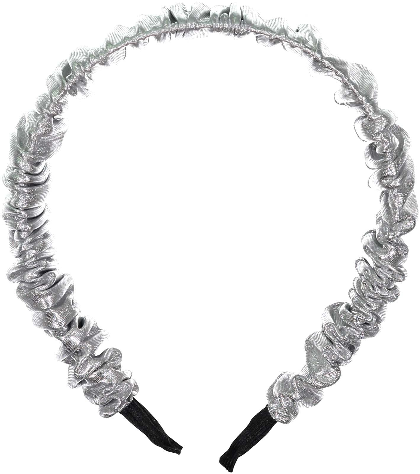 Knot Hairbands Silver Scrunch Headband - Ladida