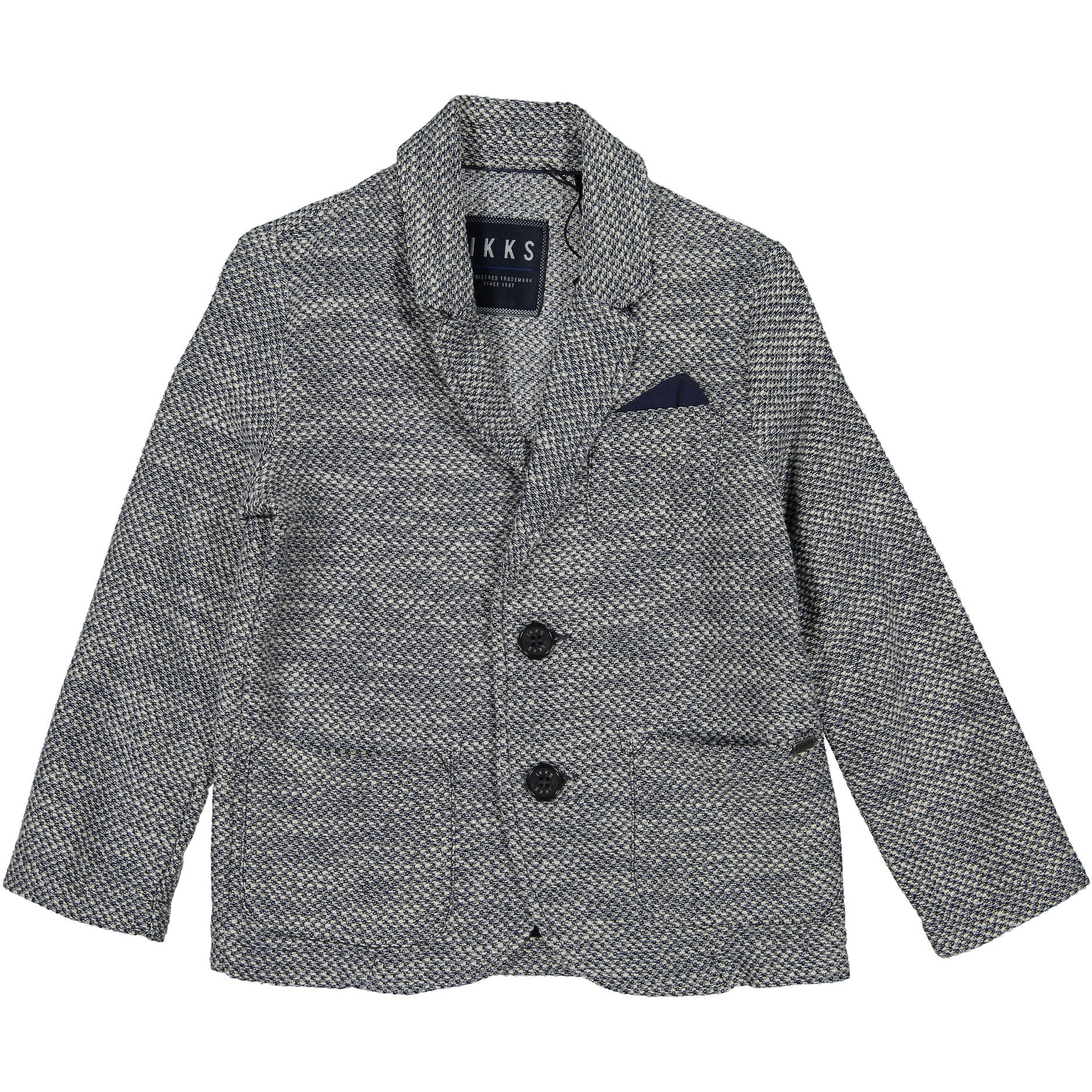 IKKS Heather Navy Blazer - Ladida