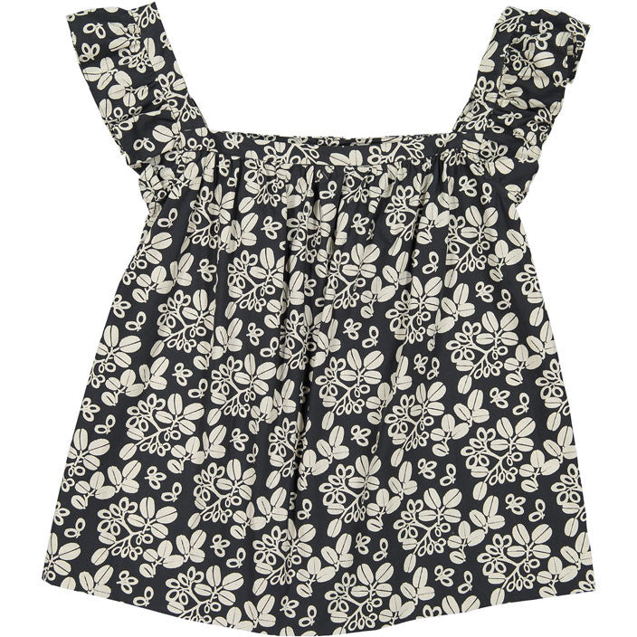 Bonpoint Black Floral Elise YAM Top - Ladida