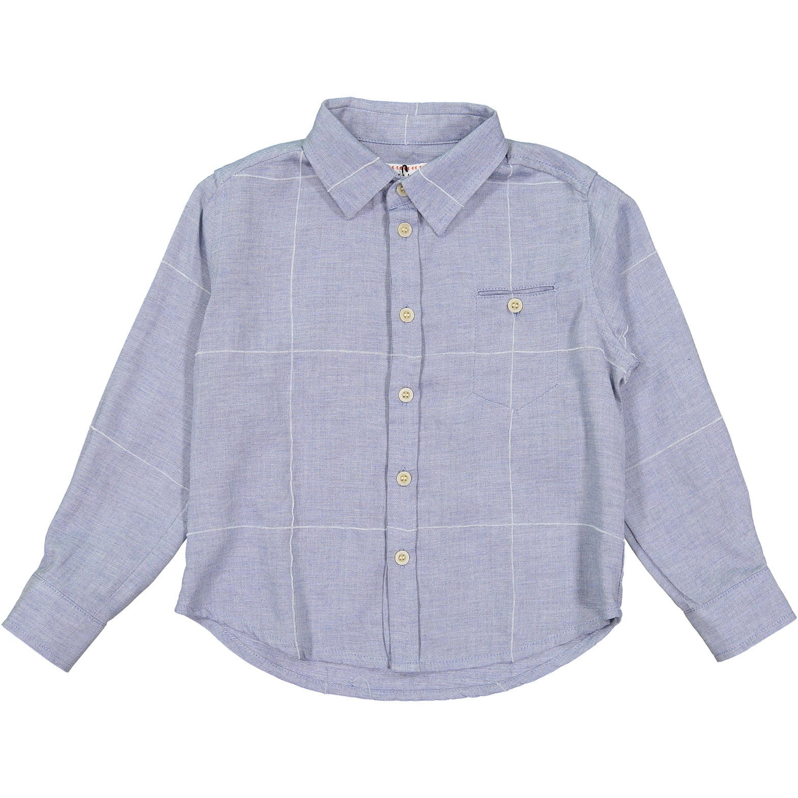 Morley Chambray Check Boys Shirt