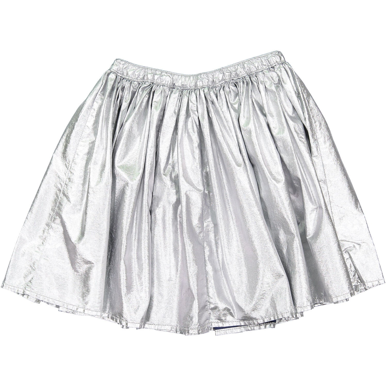 Maan Silver Flared Skirt - Ladida
