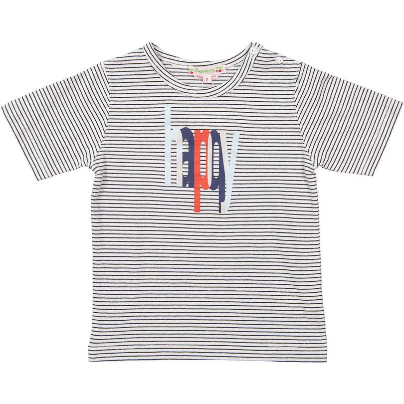 Bonpoint Happy Stripe Baby Tee - Ladida