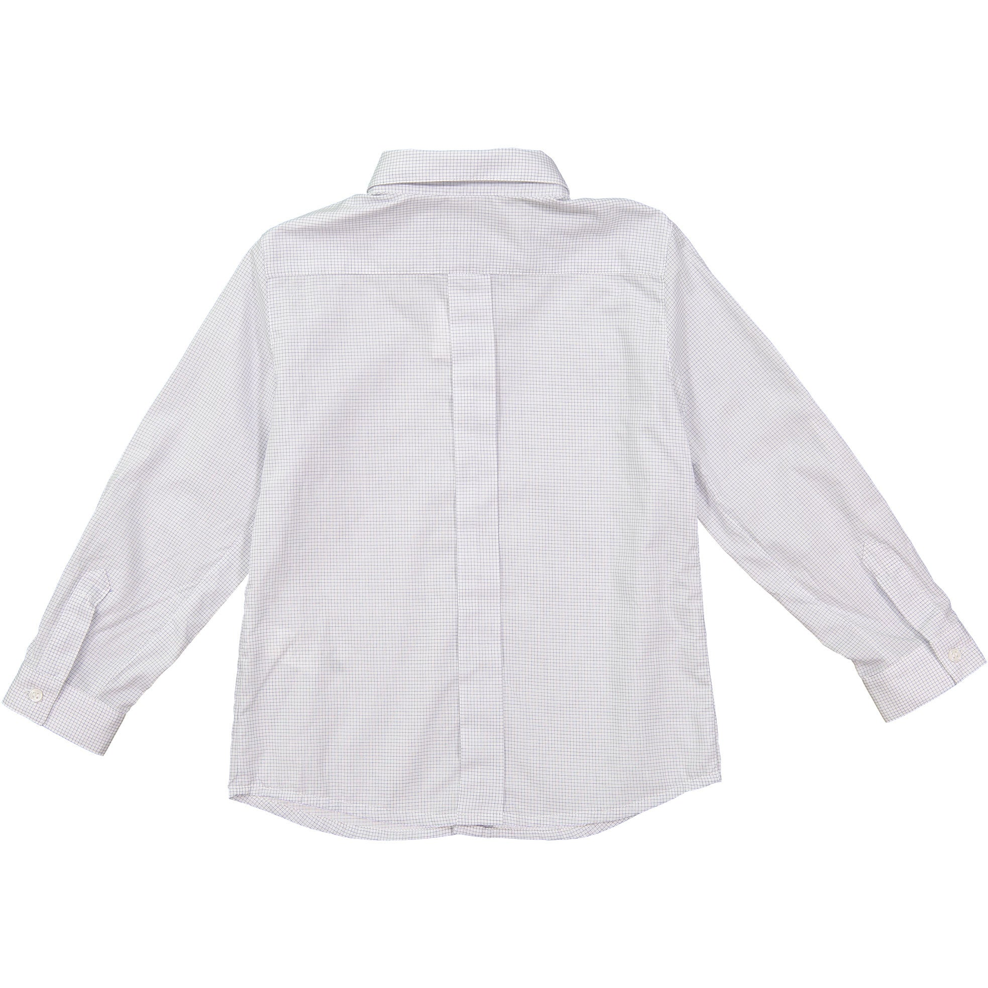 Bonpoint Blue Check Collared Shirt - Ladida