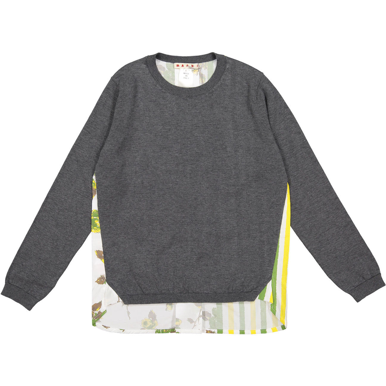 Marni Grey Melange Sweater - Ladida