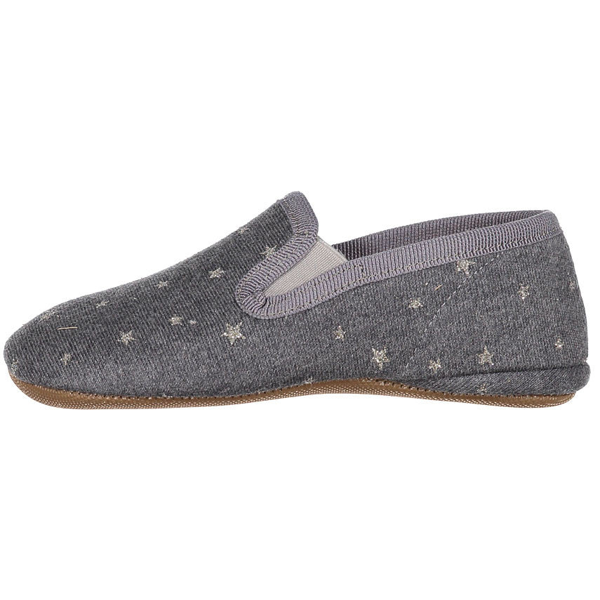 Pepe Grey Star Slip-Ons - Ladida