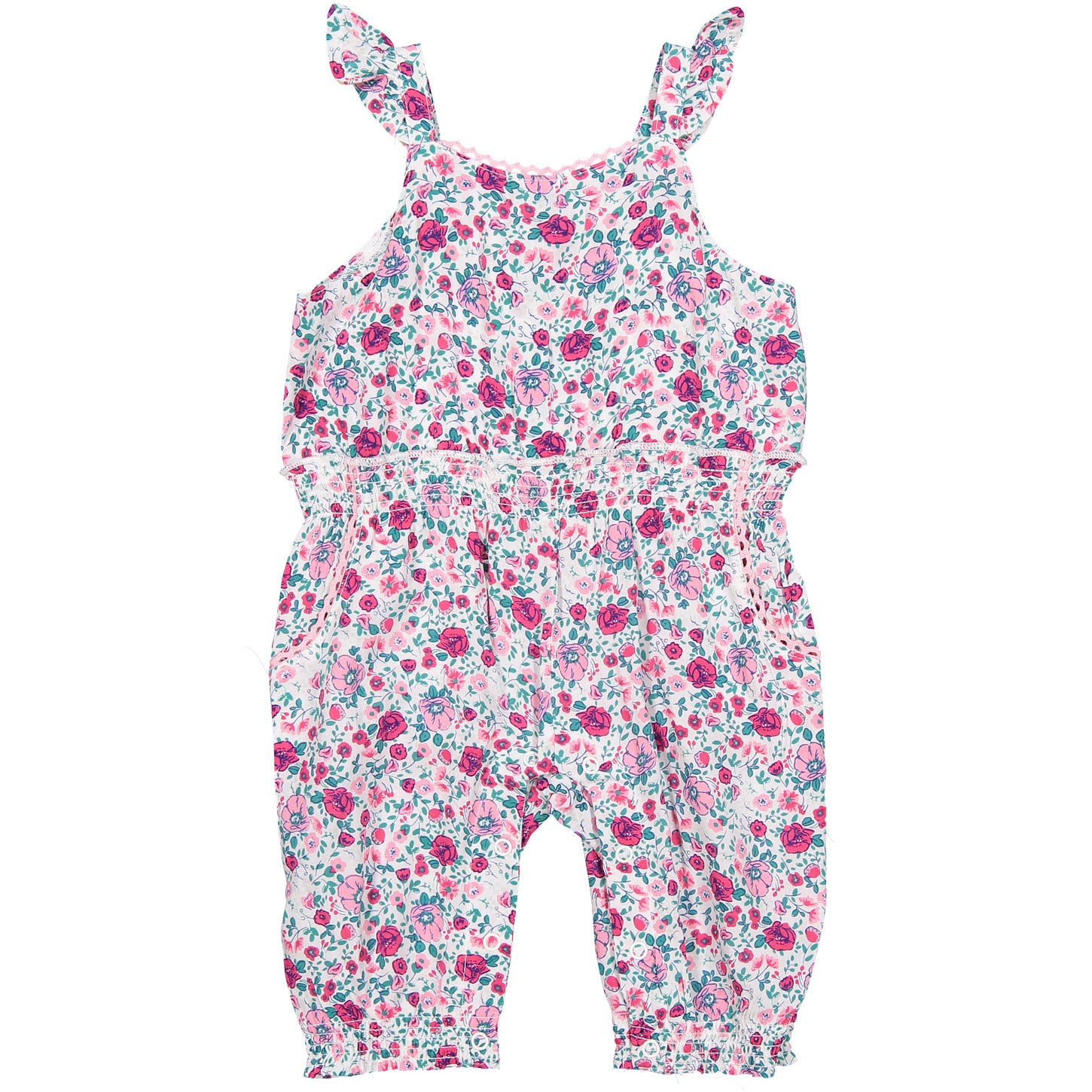 Splendid Allover Print Jumpsuit - Ladida