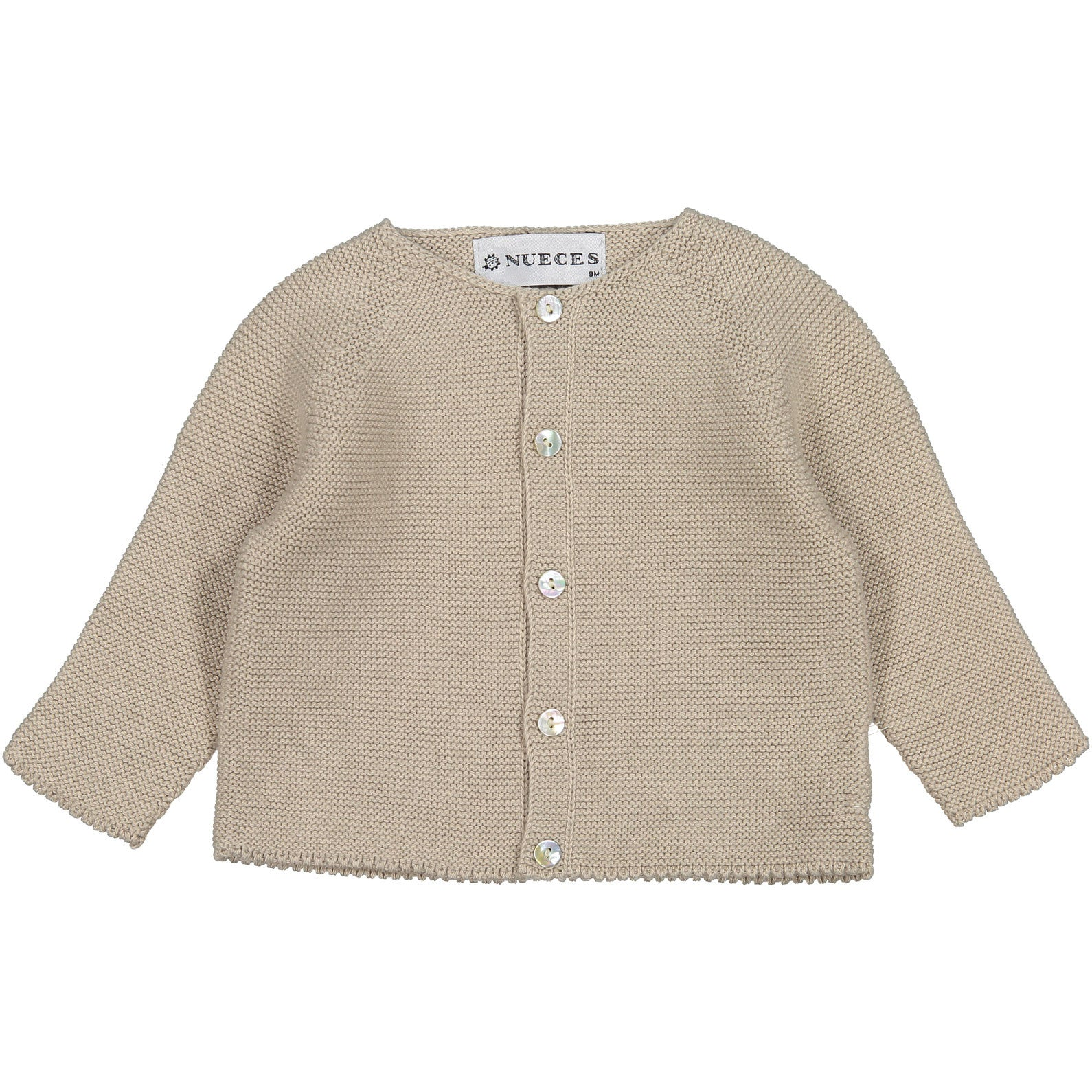 Nueces Sand Baby Sweater - Ladida