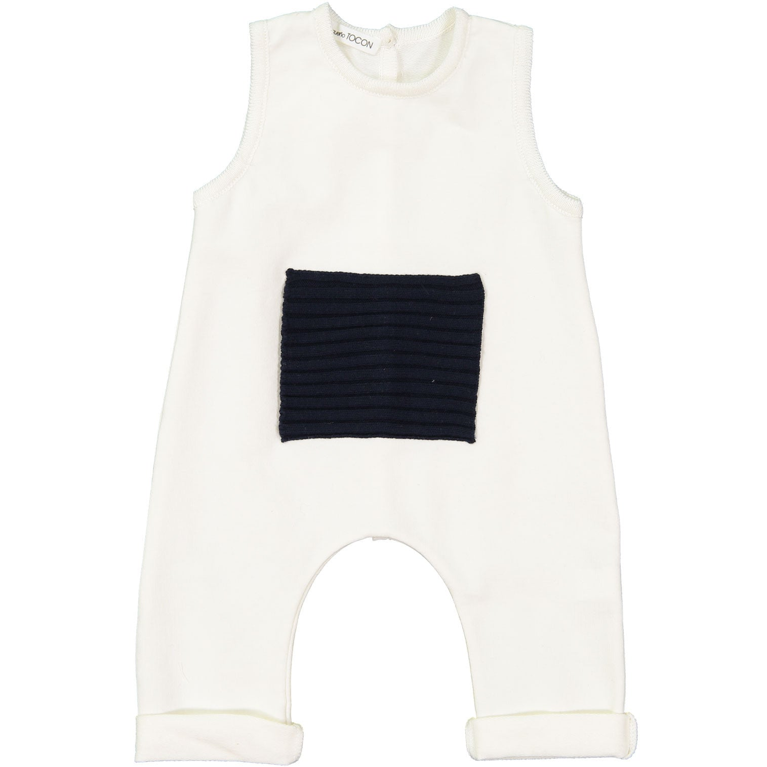 Pequeno Tocon Natural Pocket Romper - Ladida