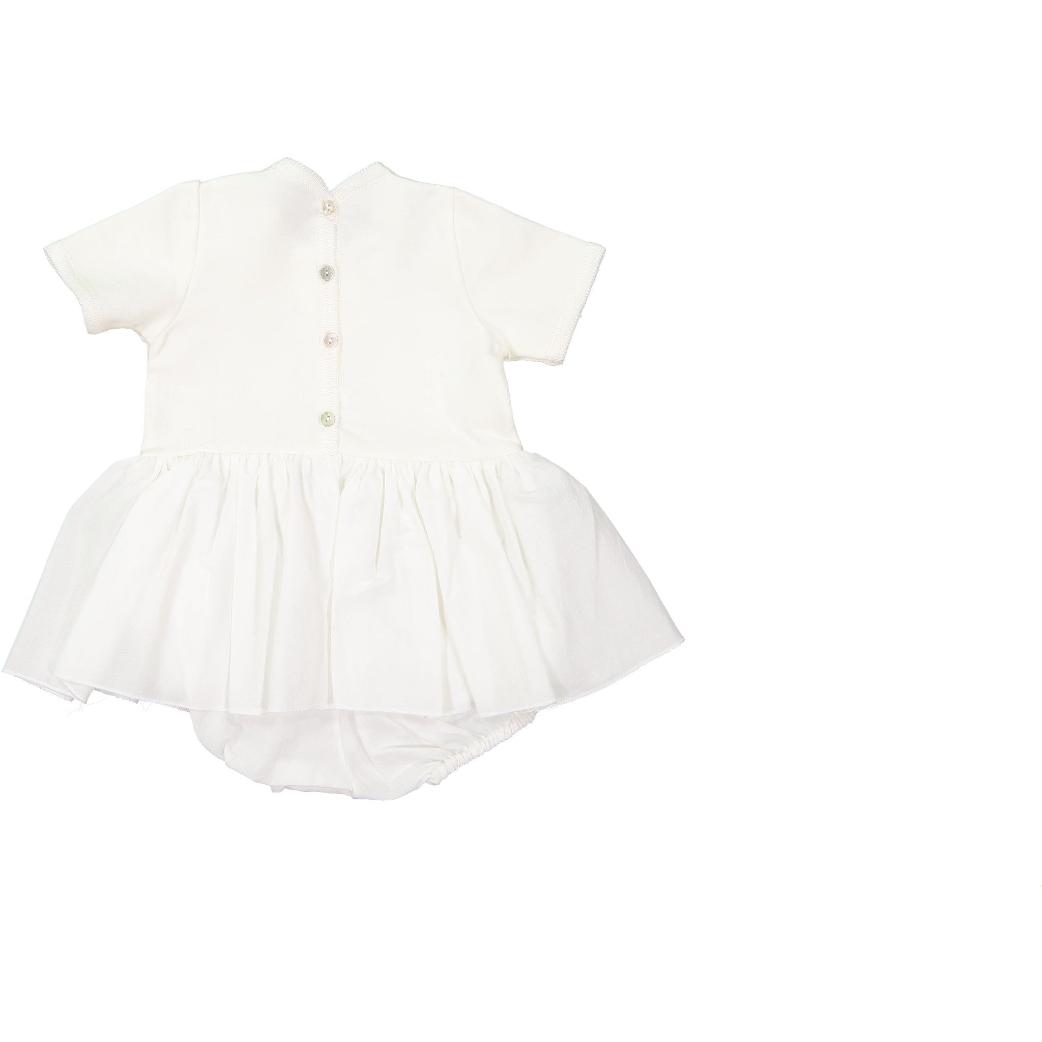 Pequeno Tocon Natural Onesie Skirt - Ladida