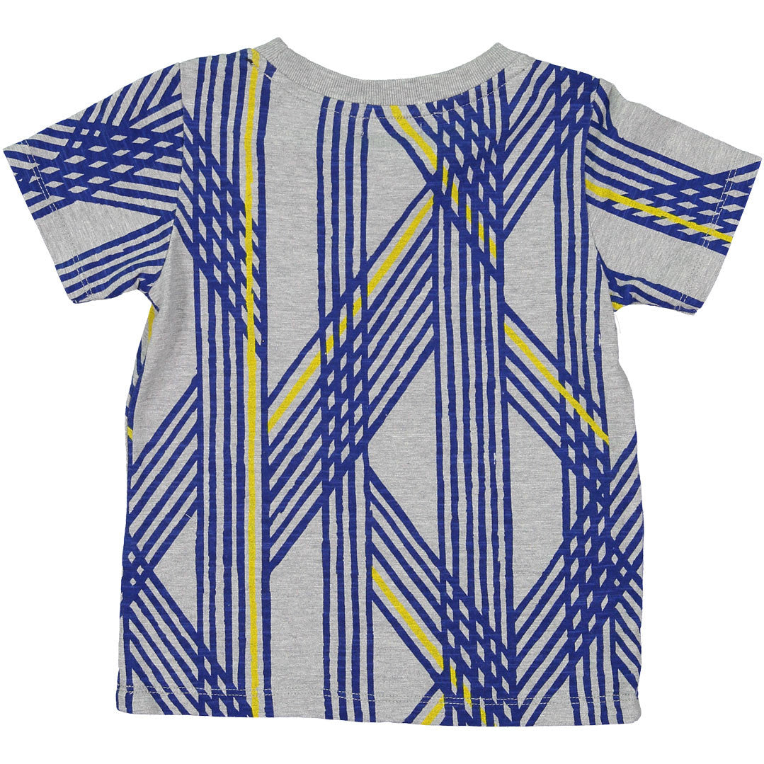 Arch and Line Grey Lines Print - Ladida