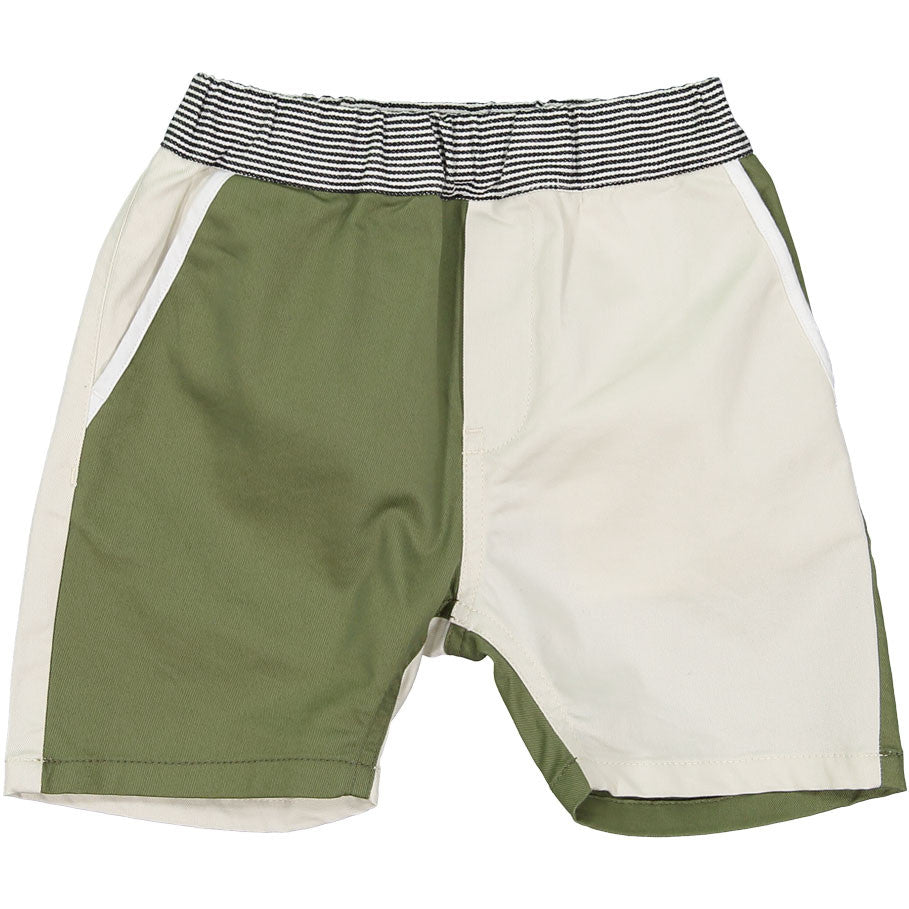 Arch and Line Olive Colorblock - Ladida