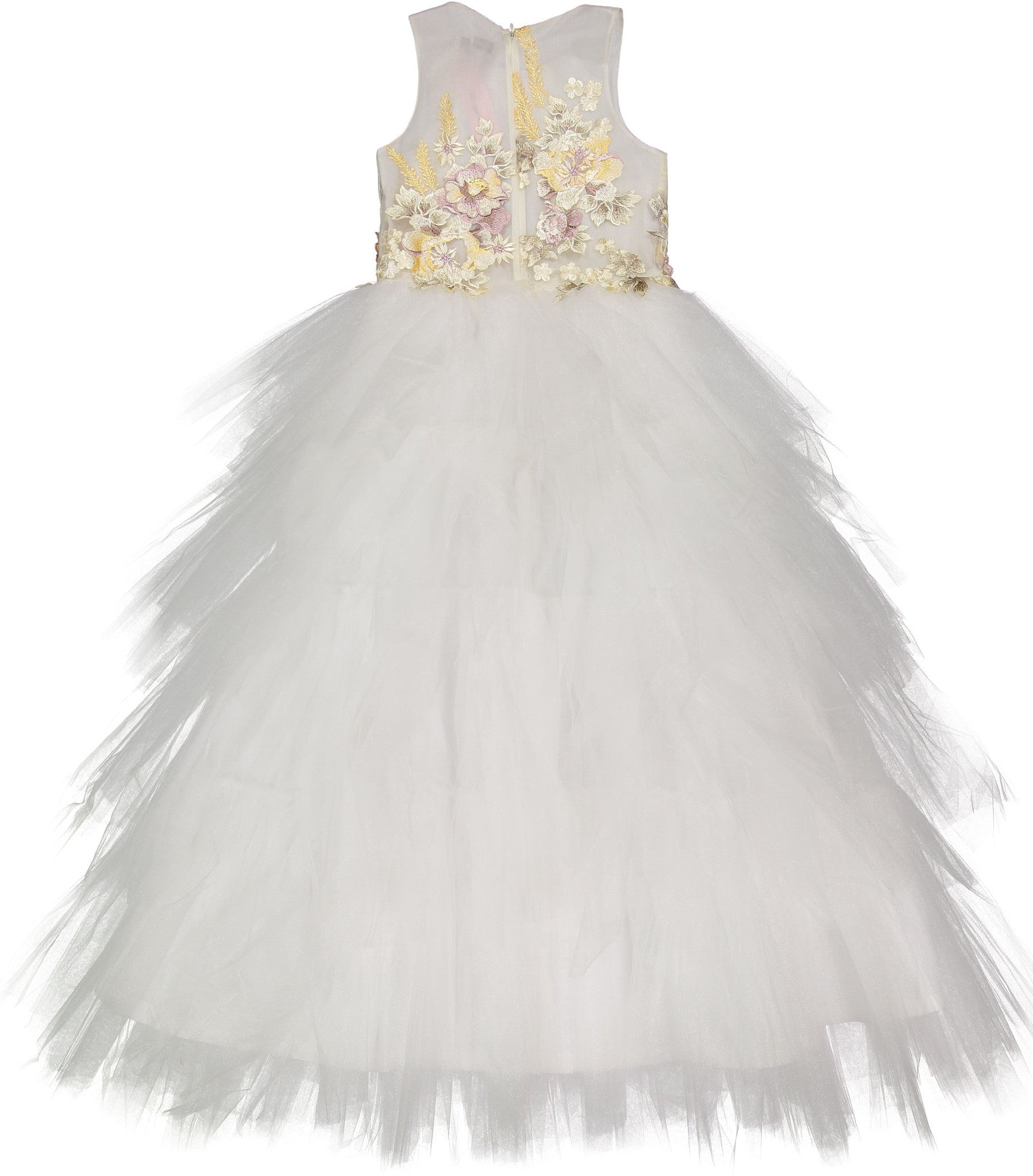 Little Miss Aoki Ivory Tulle Dress - Ladida