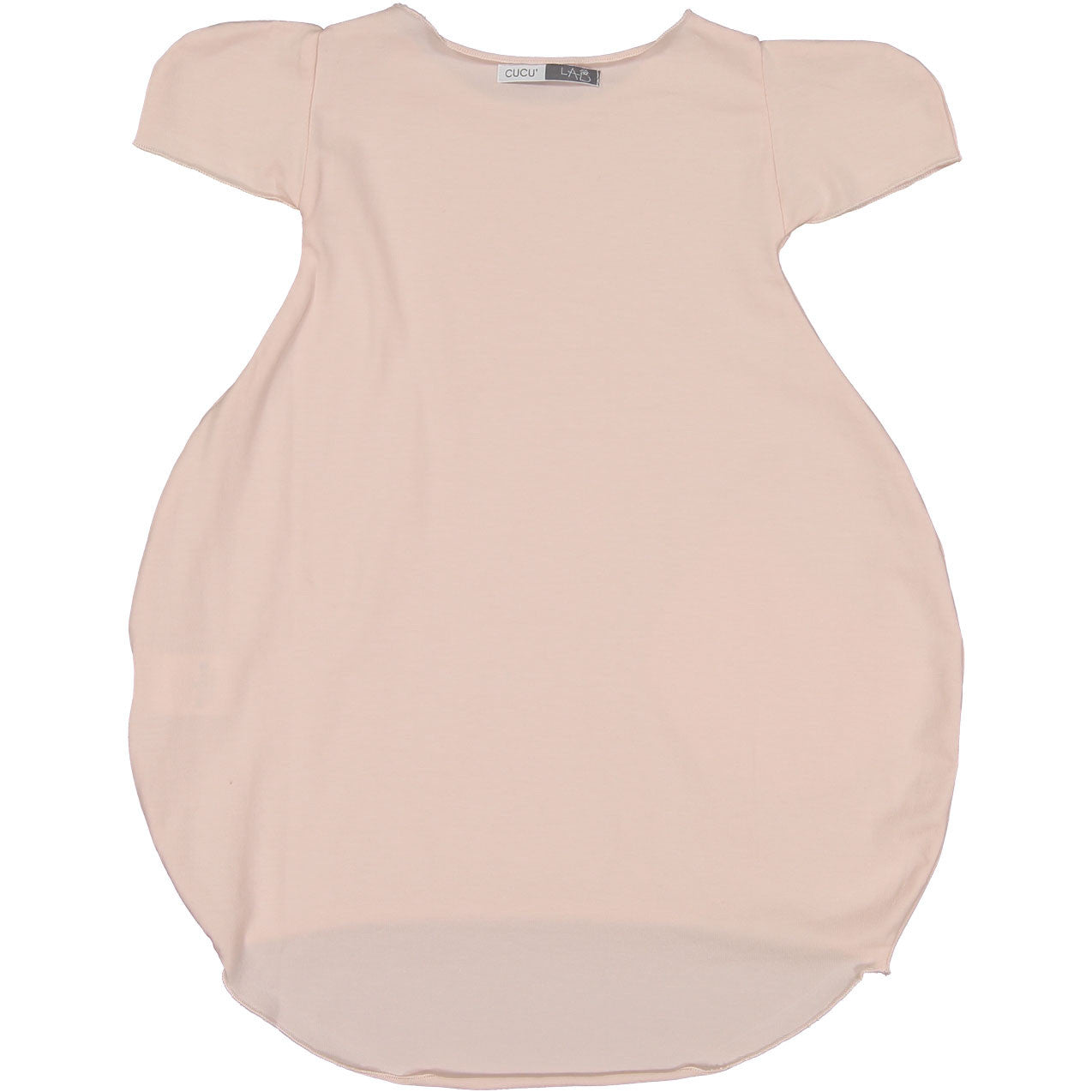 Cuculab Pink Jersey Bubble Dress - Ladida