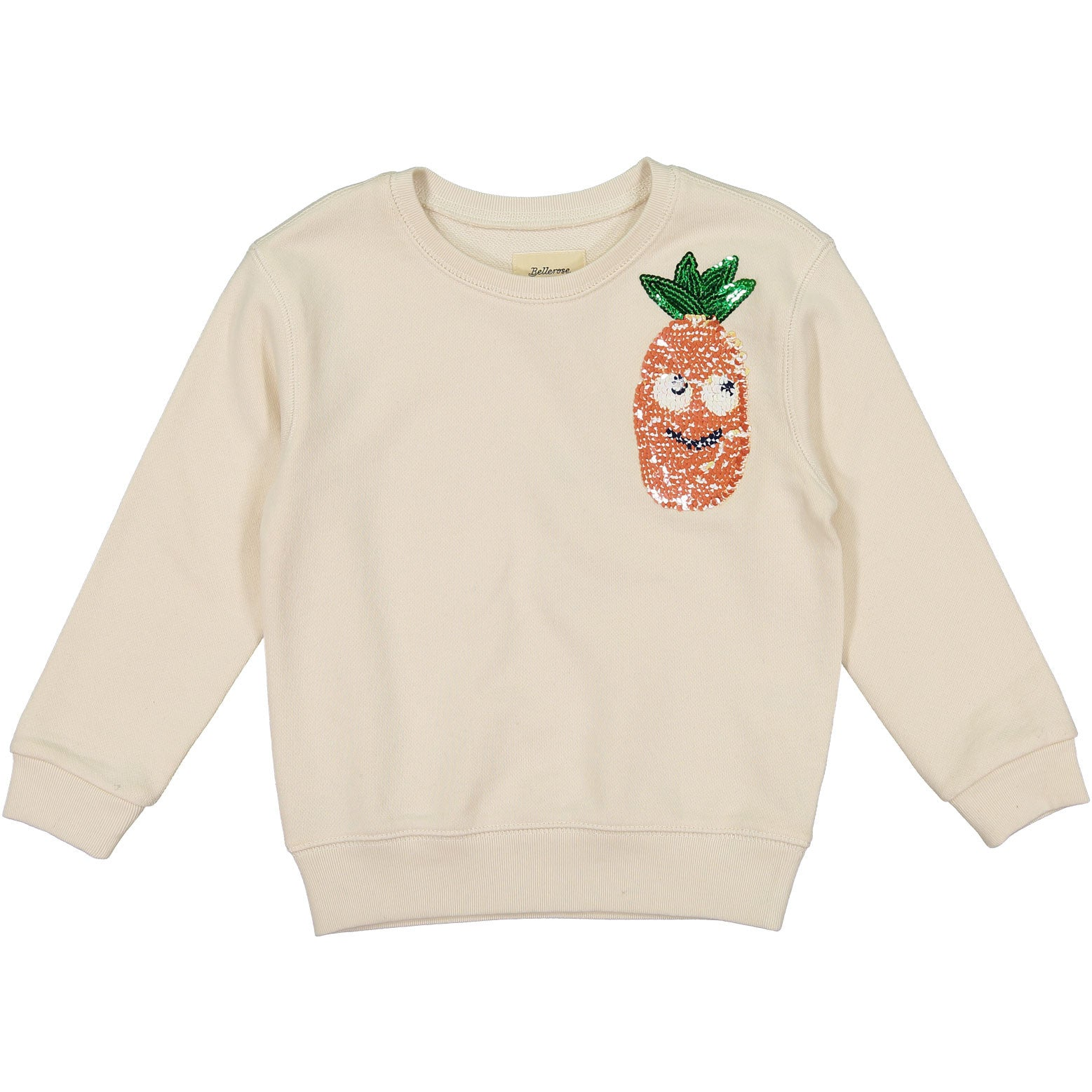 Bellerose Cream Pineapple Sweatshirt - Ladida