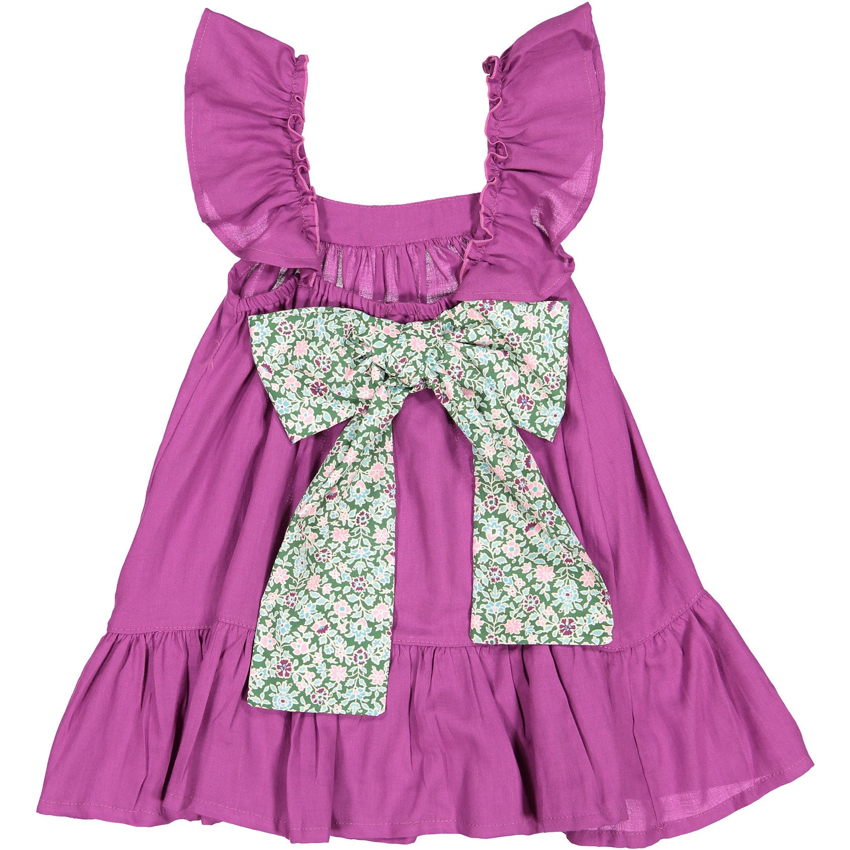 Nueces Purple Floral Dress - Ladida