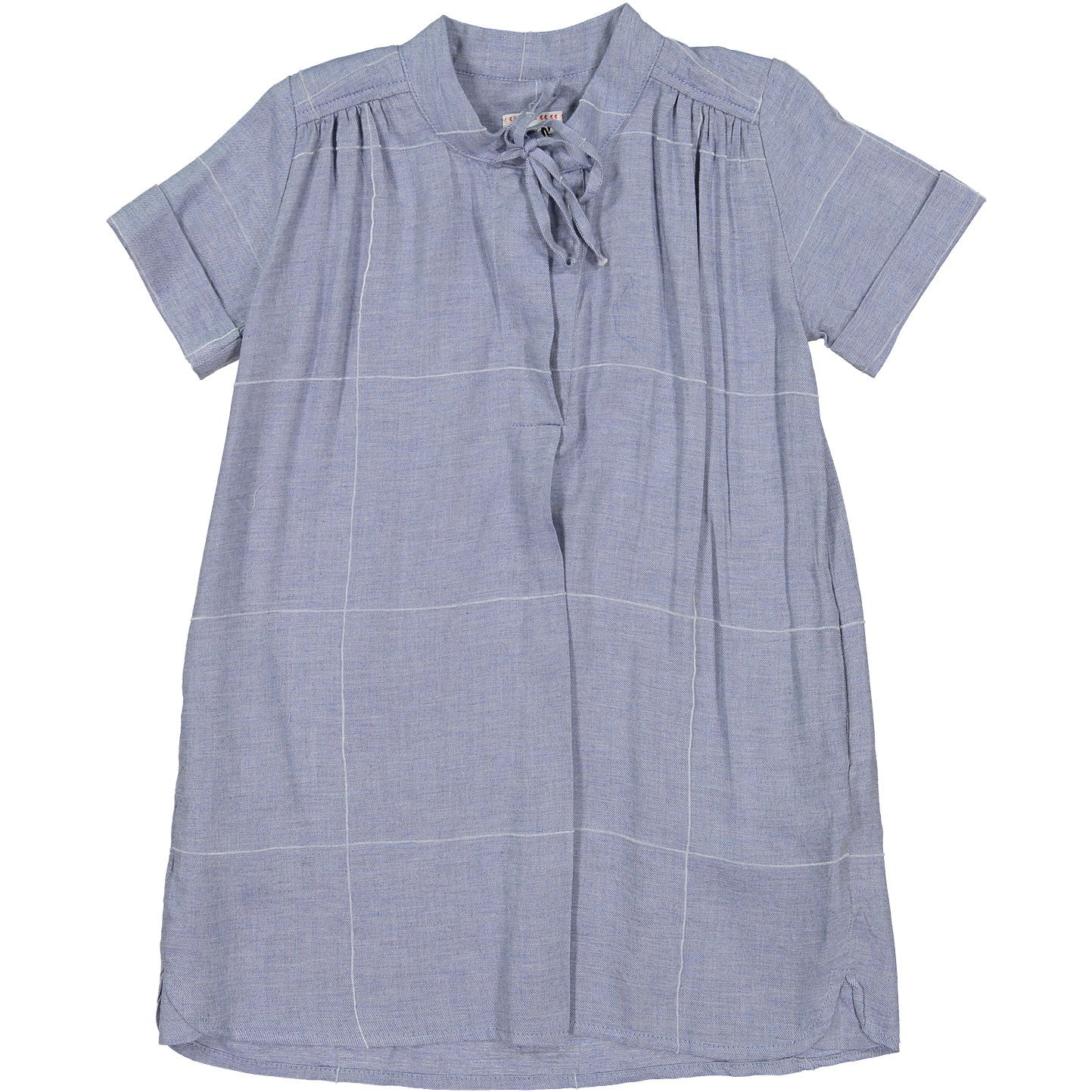 Morley Chambray Check Finn Dress - Ladida