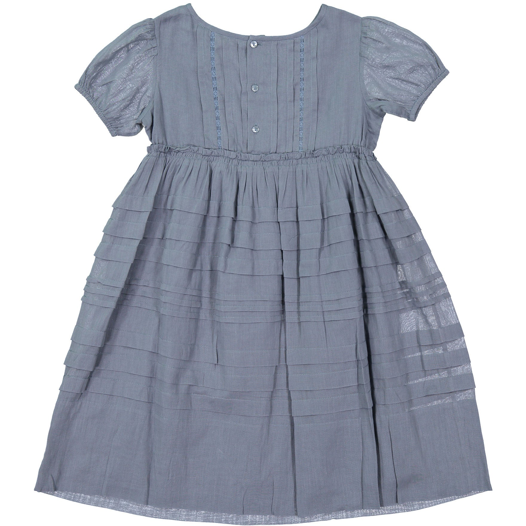 Bonpoint Slate Pleated Dress - Ladida