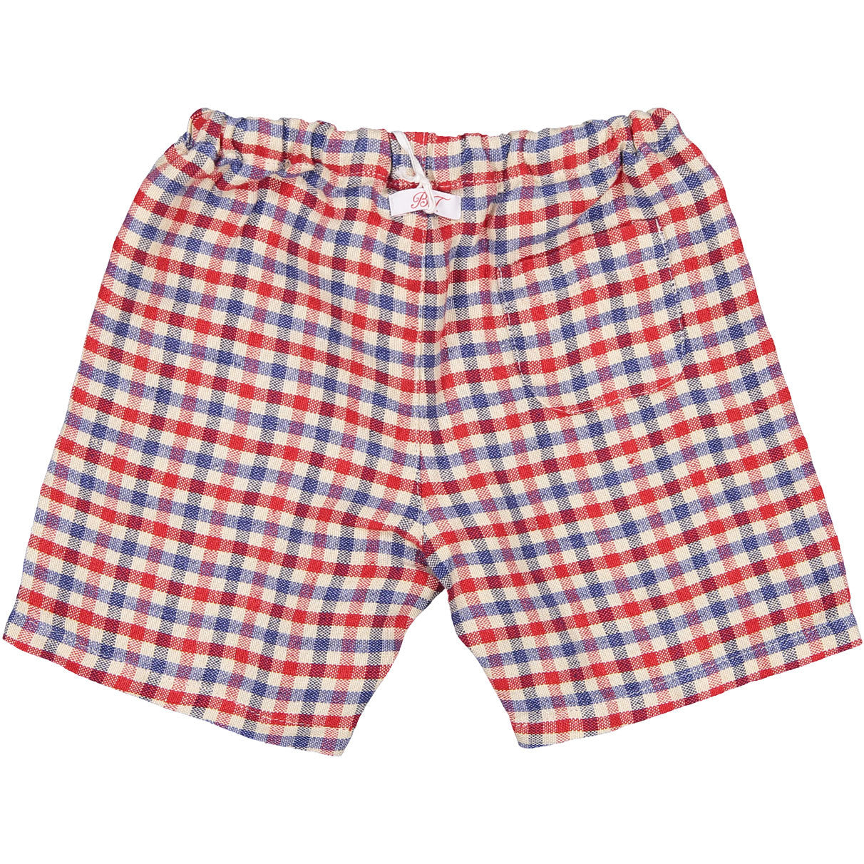 Babe and Tess Red/Blue Check Shorts - Ladida