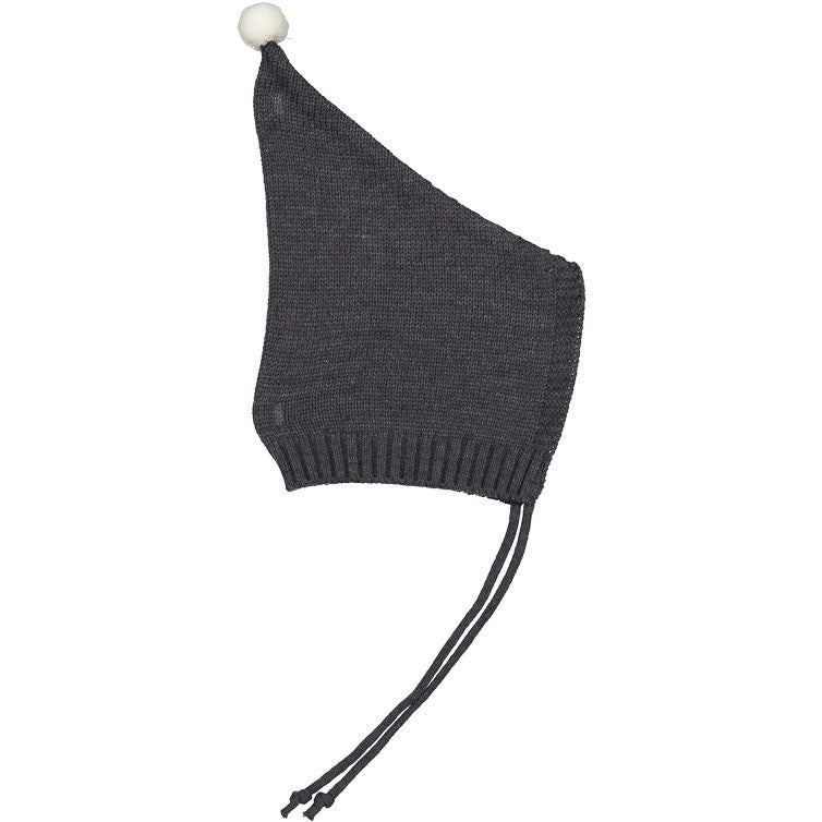 Mini Dressing Grey Knit Bonnet