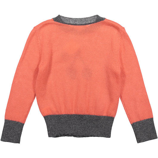 Bonpoint Candy Pink Cherry Sweater - Ladida
