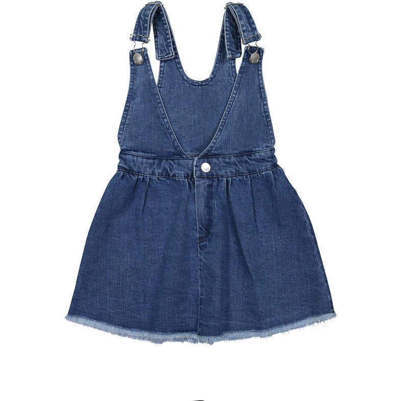 Atelier Barn Jean Pinafore