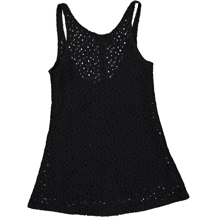 Atelier Barn Black Eyelet Jumper - Ladida