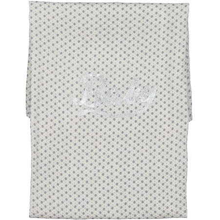 Bonpoint Grey Star Security Blanket - Ladida
