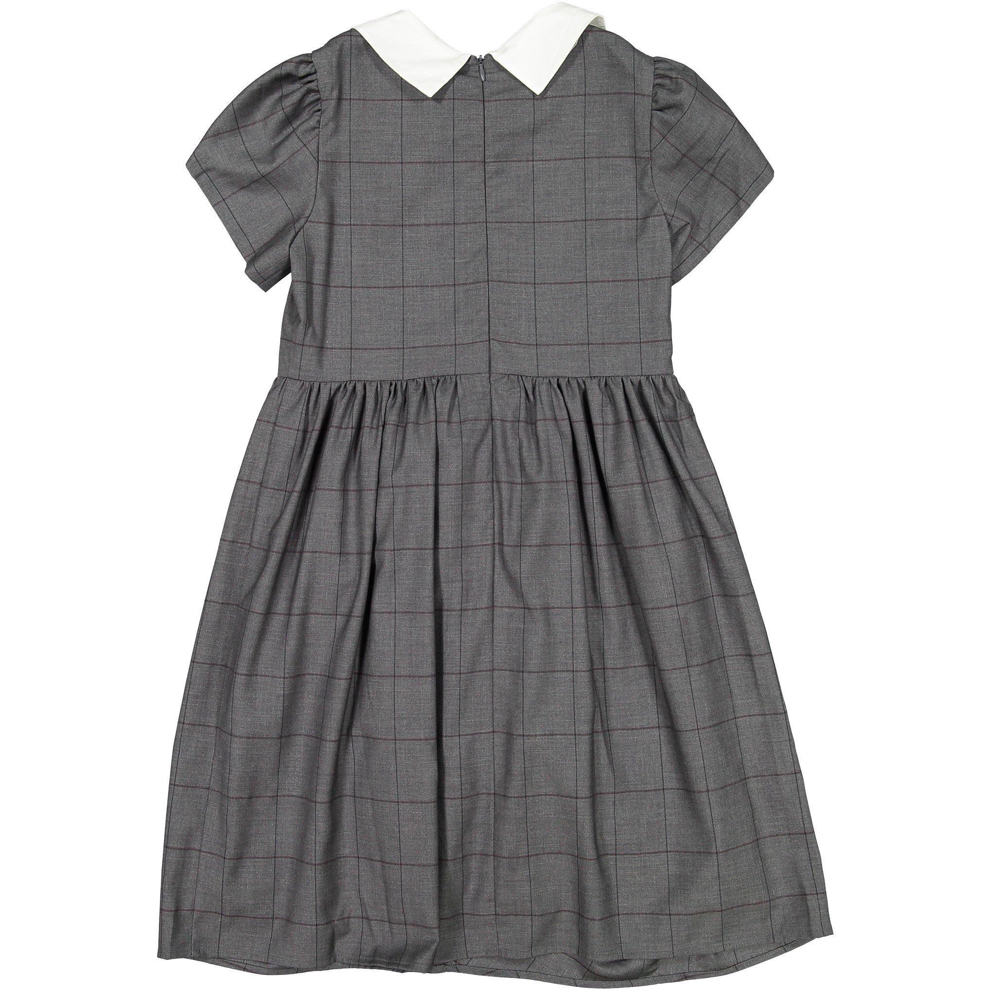 Ava & Lu Grey Peter Pan Dress - Ladida
