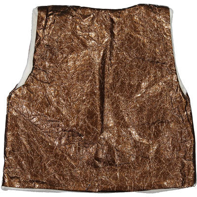 Pequeno Tocon Gold Fleece Vest - Ladida