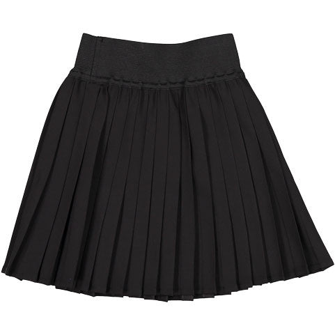 Ava & Lu Black Pleated Skirt - Ladida