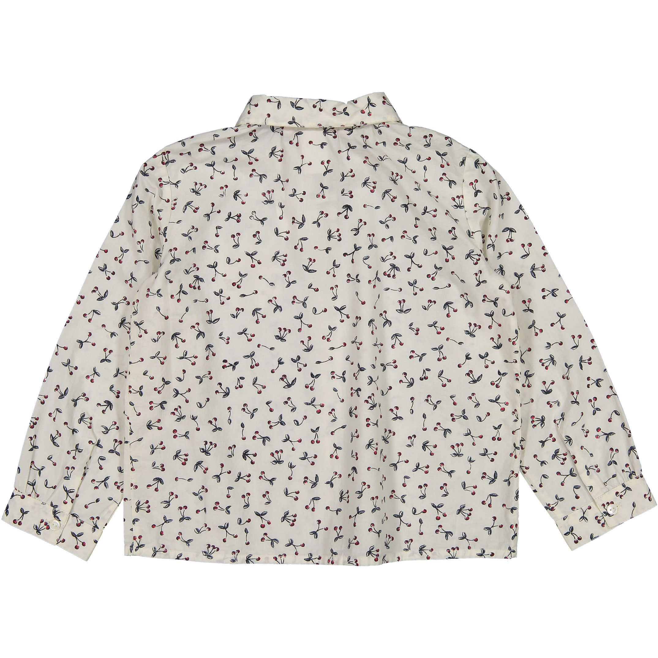 Bonpoint Ecru Cherry Blouse - Ladida