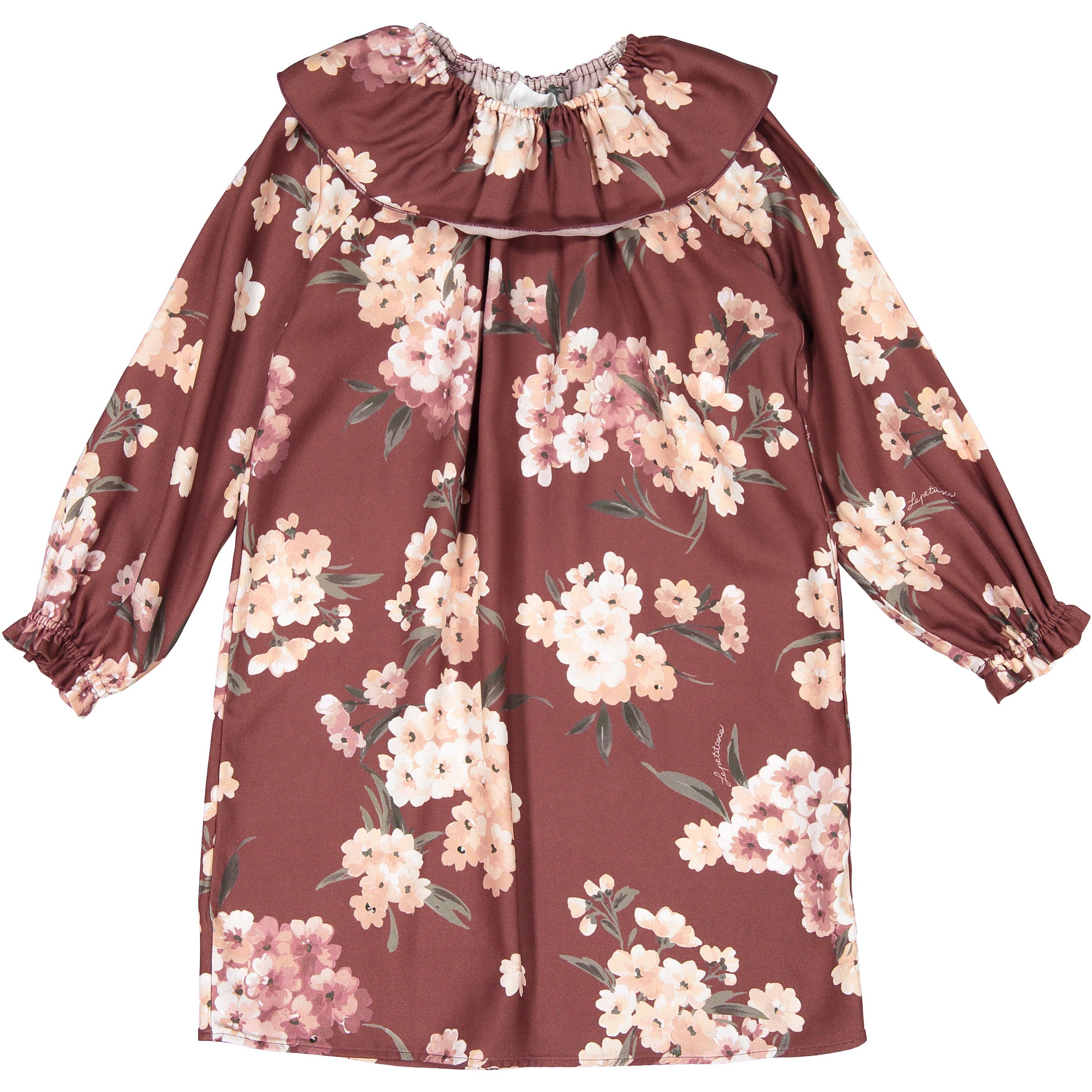 Le Petit Coco Red Floral Dress - Ladida