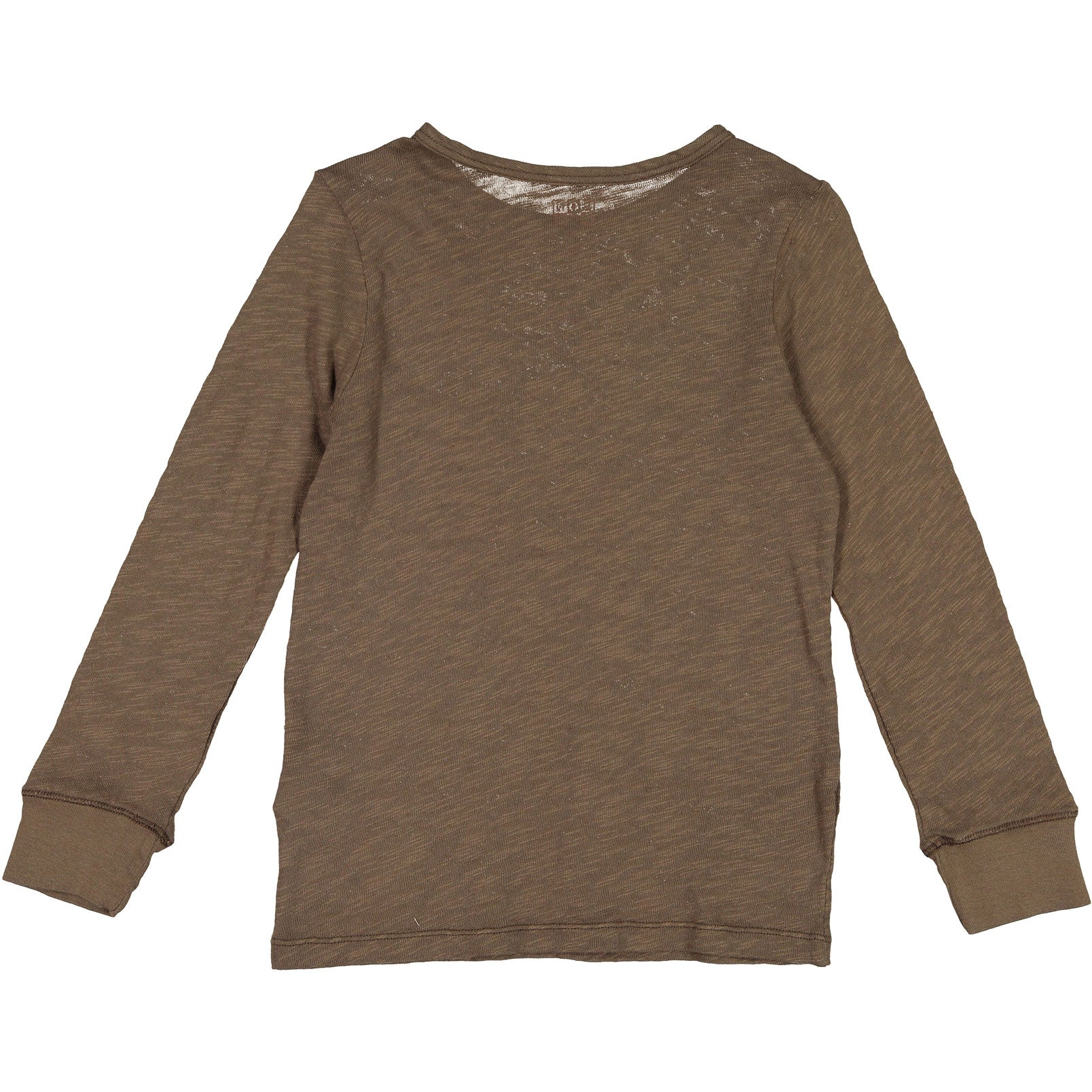 Bonton Brown Pocket Linen Tee - Ladida
