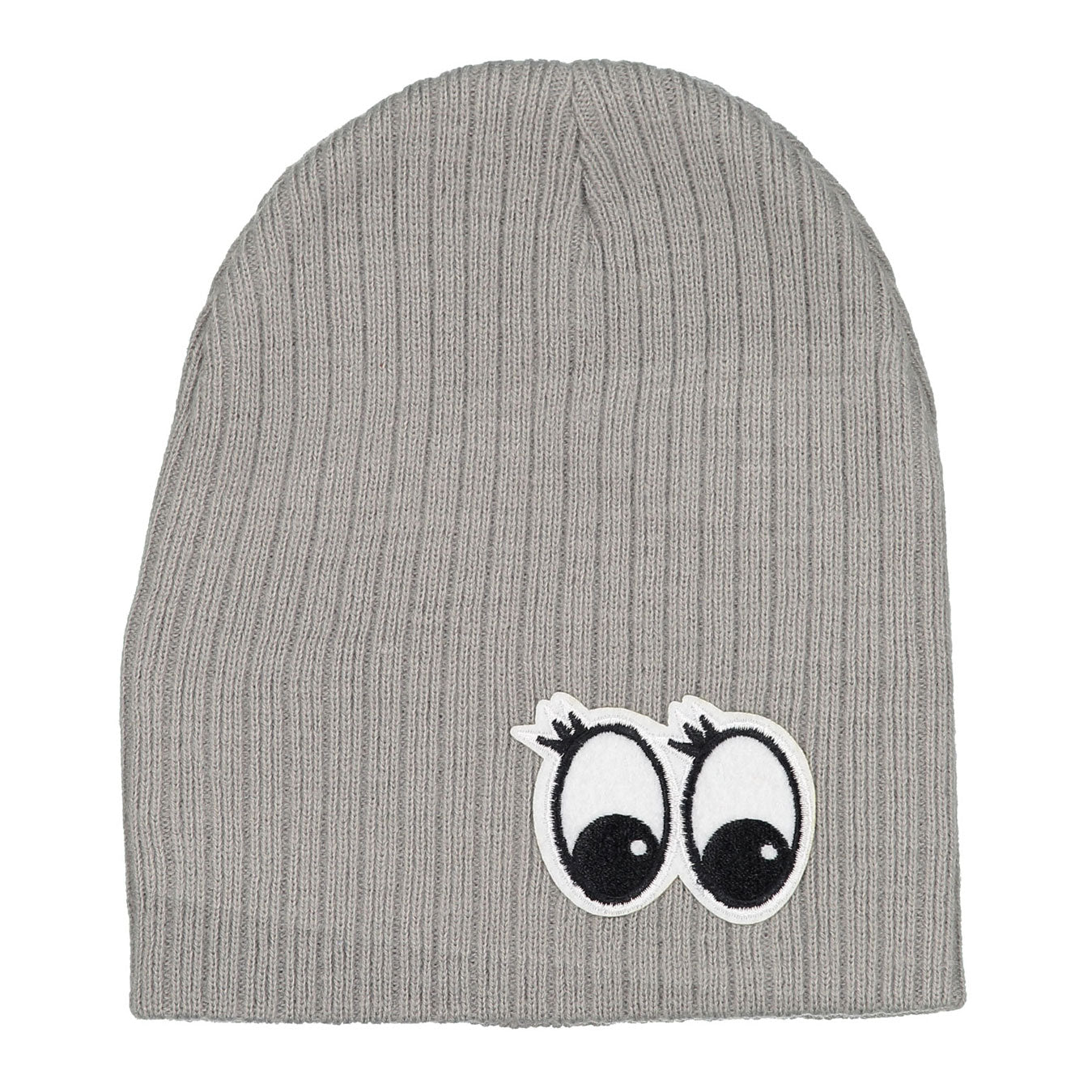 Firefly Grey Ribbed Eyes Hat - Ladida