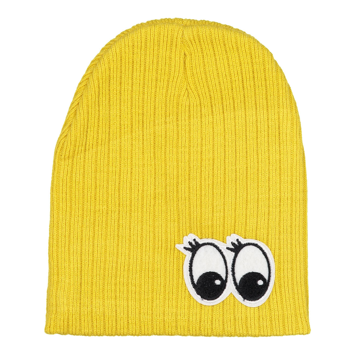 Firefly Mustard Ribbed Eyes Hat - Ladida