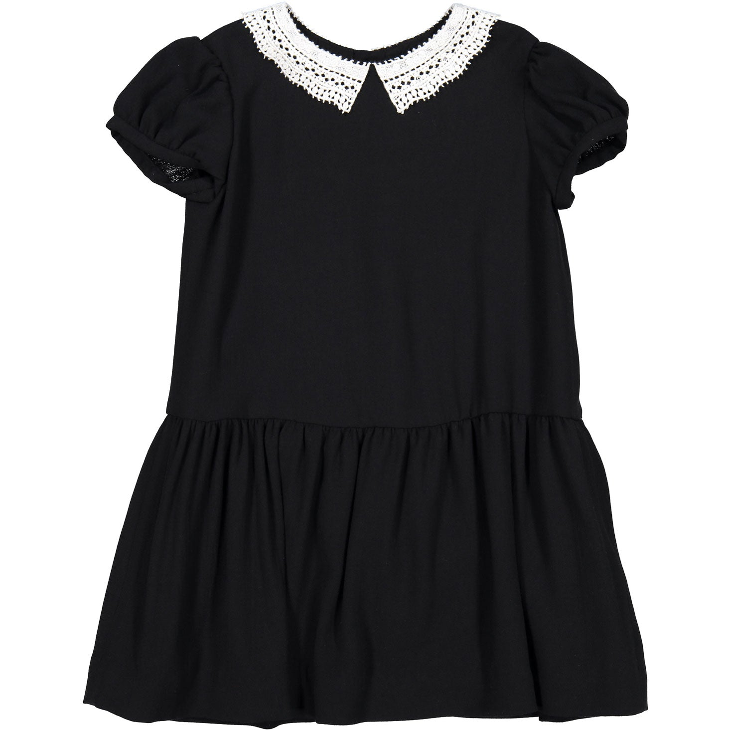 Bonpoint Black Lace Doll Dress