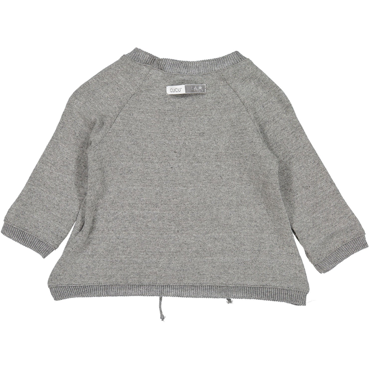 Cuculab Grey Arlette Baby Sweater - Ladida