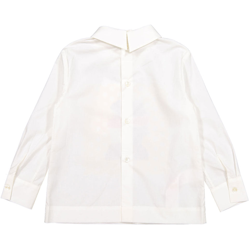 Marni White Graphic Blouse - Ladida