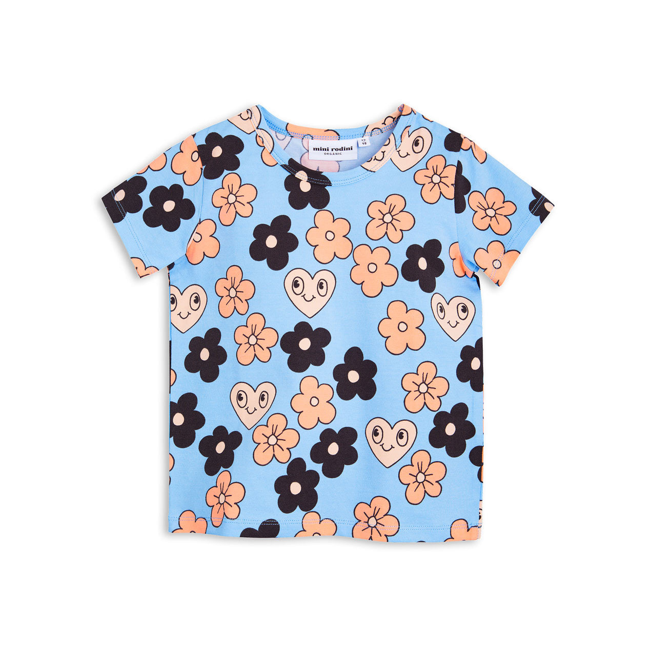 Mini Rodini Flowers SS Tee - Ladida