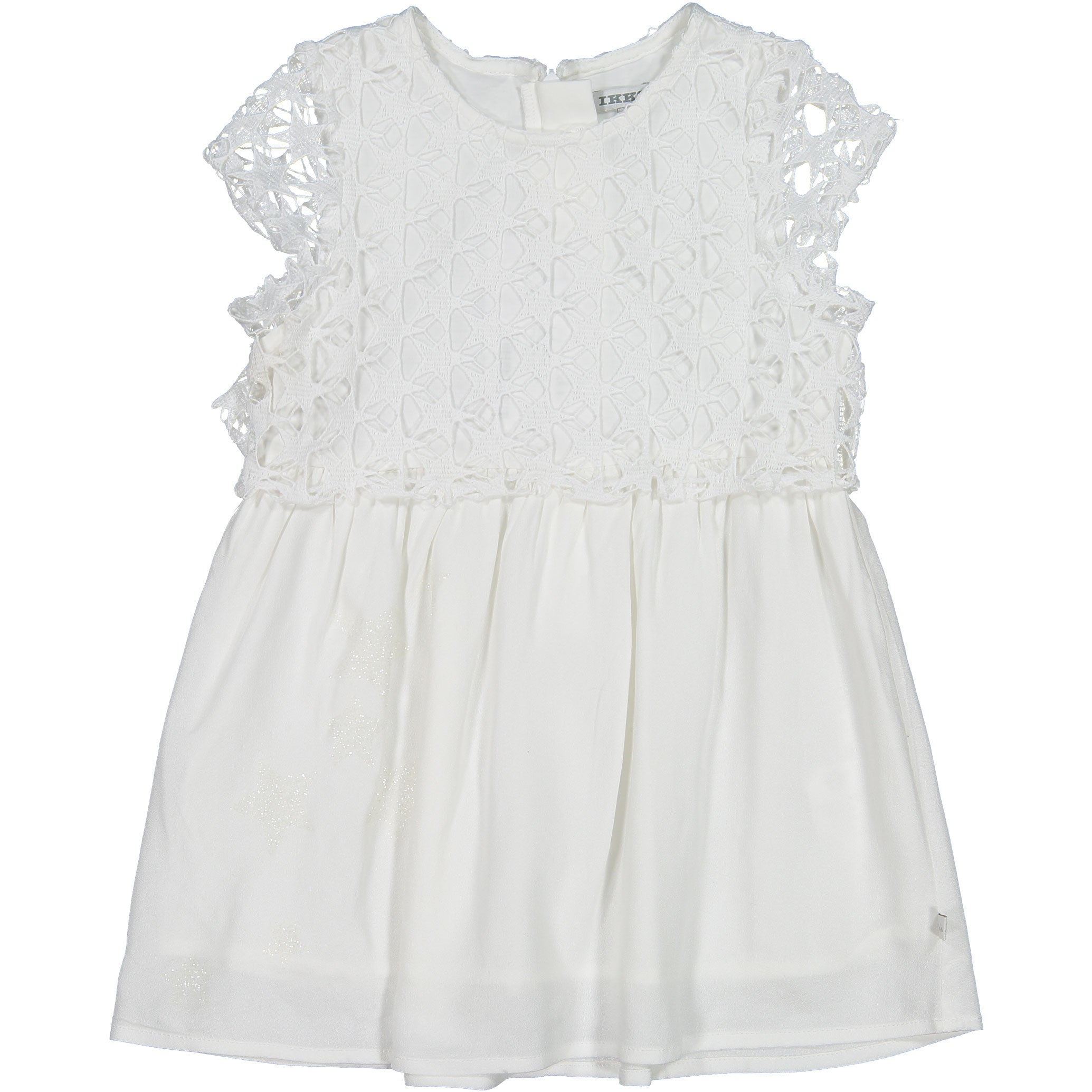 IKKS White Star Overlay Dress