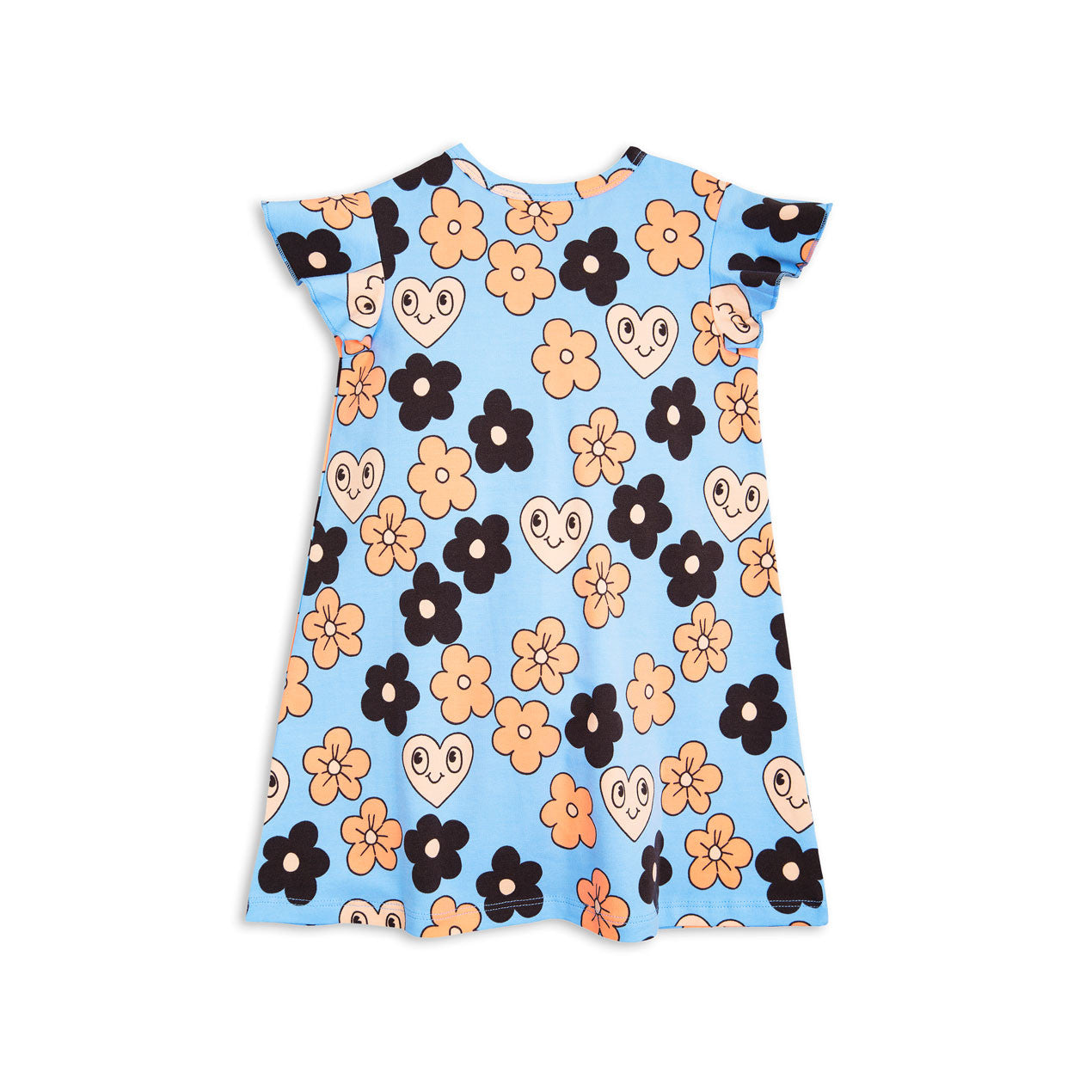 Mini Rodini Flowers Wing Dress - Ladida