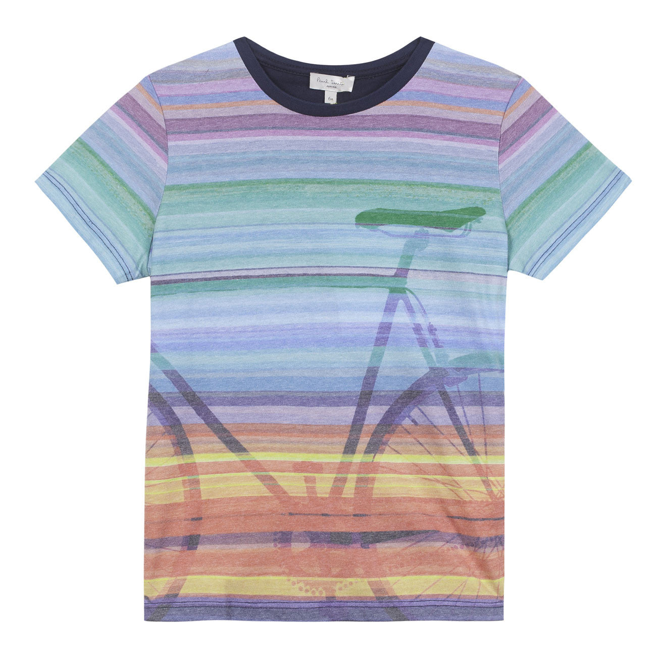 Paul Smith Striped Bike Tee - Ladida