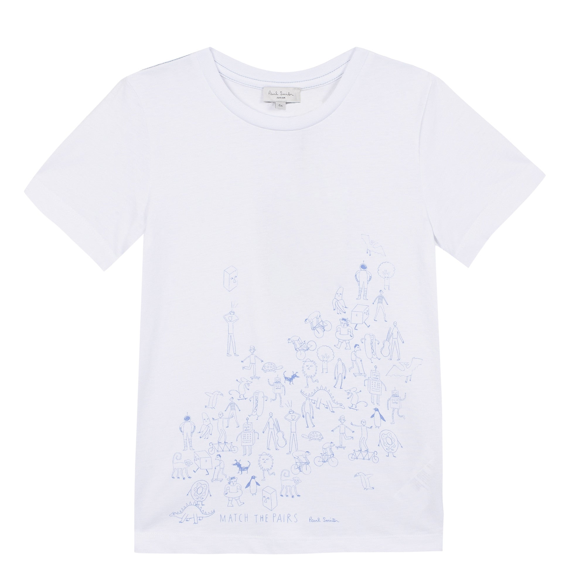 Paul Smith White Crowd Tee
