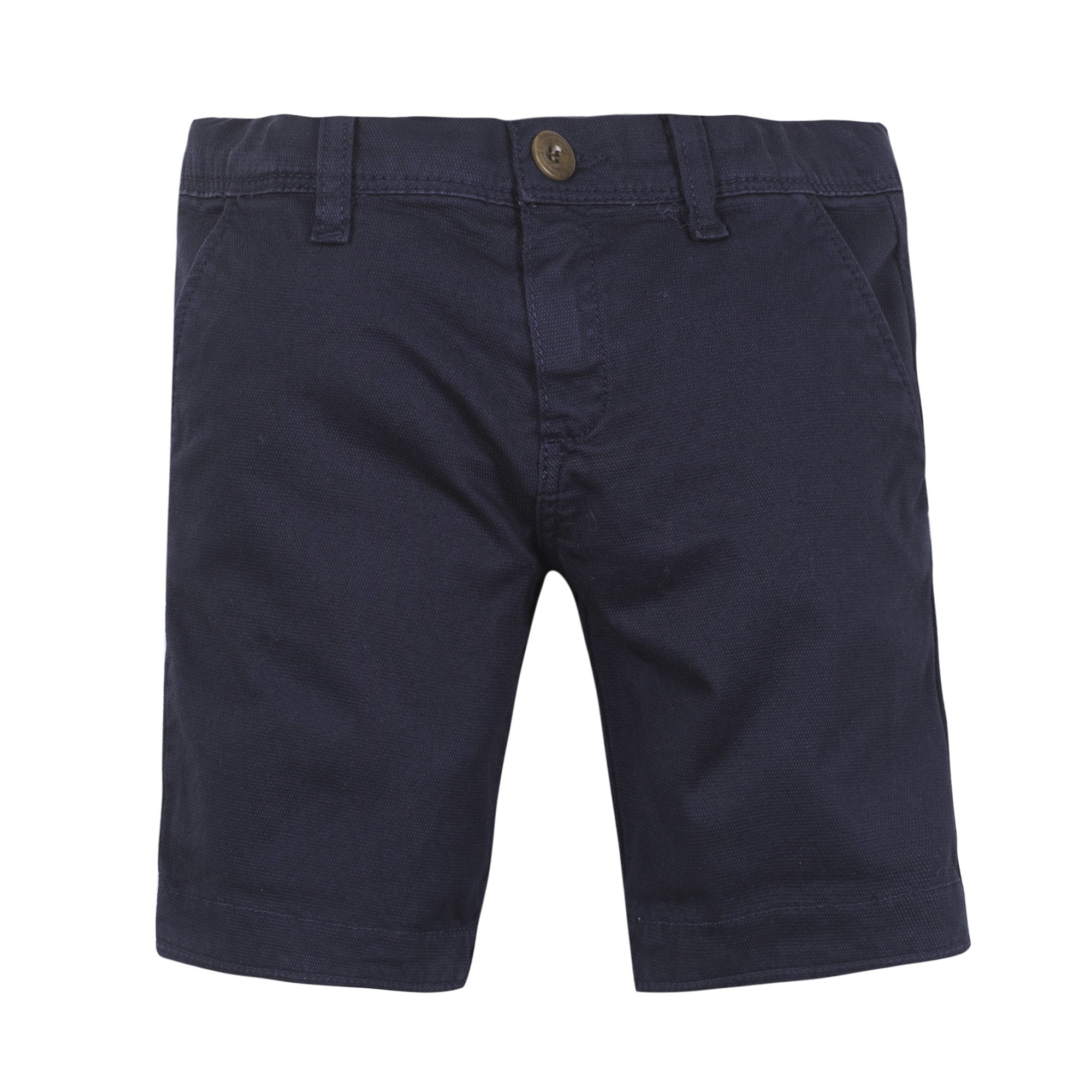 Paul Smith Navy Canvas Bermuda - Ladida