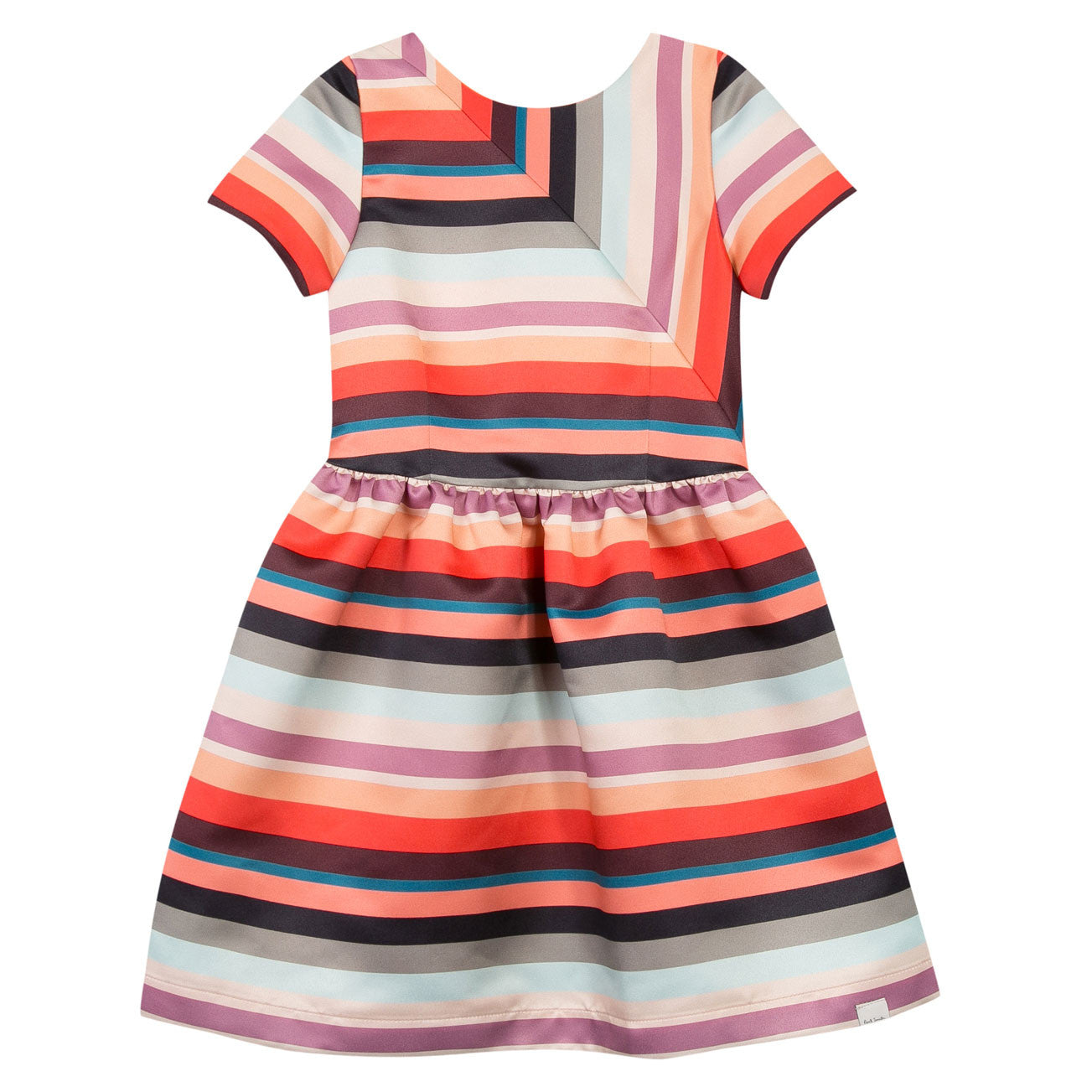 Paul Smith Junior Thick Stripes Party Dress