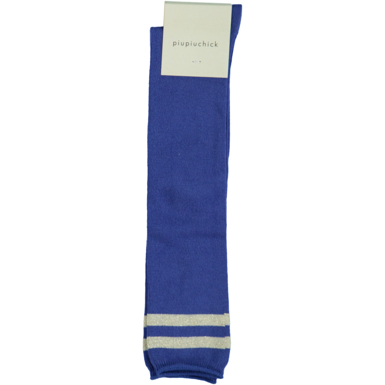 Piupiuchick Blue Stripes Midi Socks