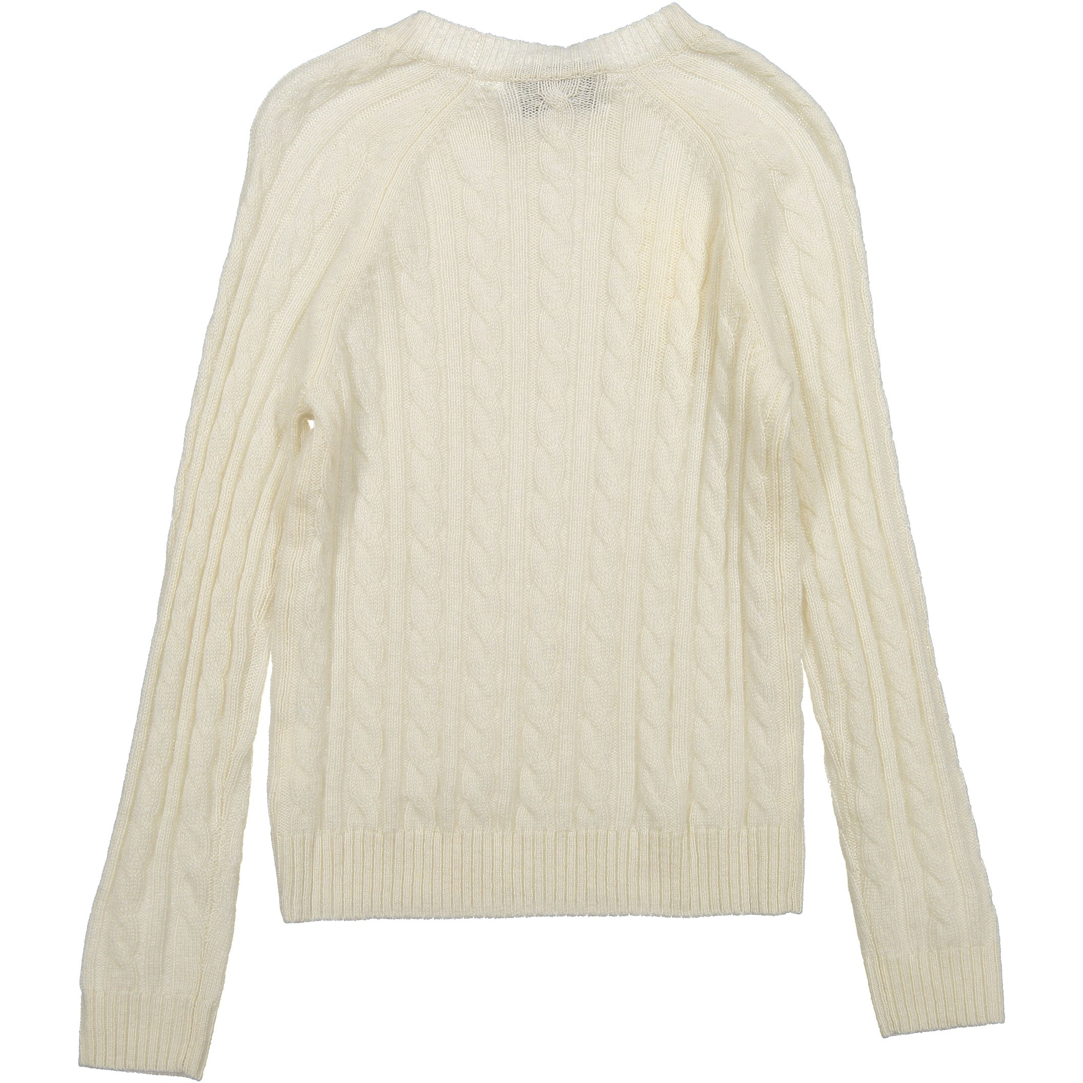 8b5aa7b0102b5a Autumn Cashmere Cream Cable Knit Sweater
